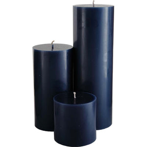 Starry Night Pillar Candles