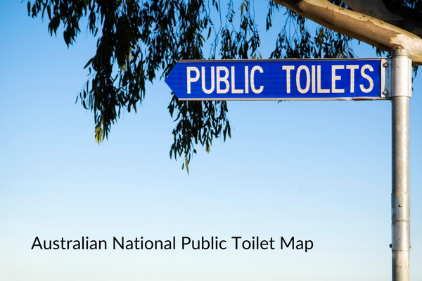 Australian National Public Toilet Map