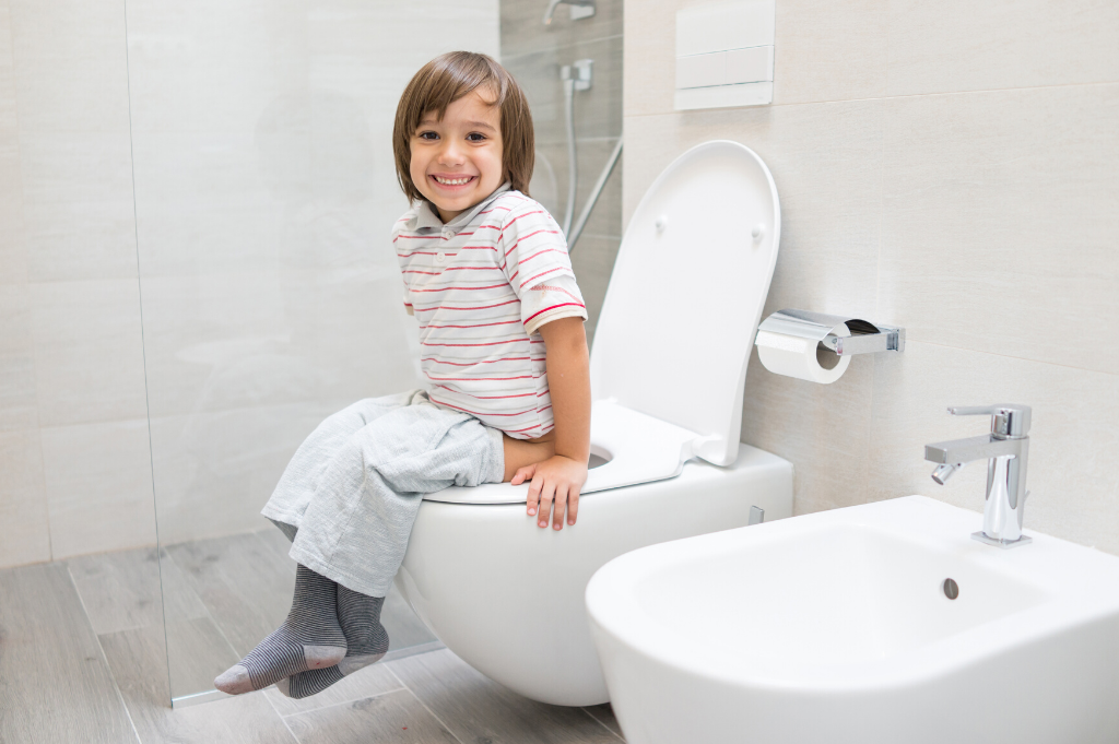 Toilet training and public toilets – Tushon has it covered!