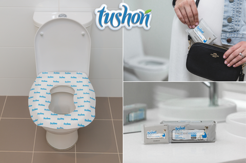 Tushon 3Ply Toilet Seat Covers
