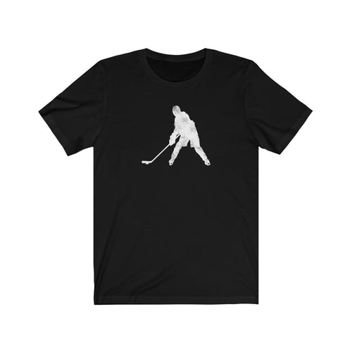 Ice Hockey Chick Short Sleeve T-Shirt