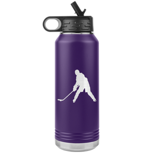 Ice Hockey Chick Water Bottle