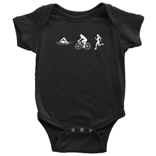 Triathlon Chick Infant Bodysuit - Chick 9 Clothing