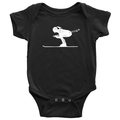 Skier Chick Infant Bodysuit - Chick 9 Clothing