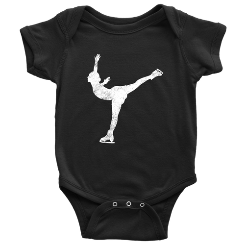 Ice Skating Chick Infant Bodysuit - Chick 9 Clothing