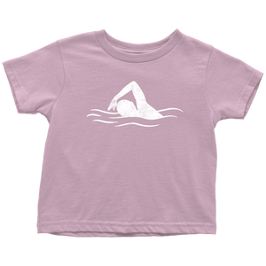 Swimmer Chick Toddler Tee