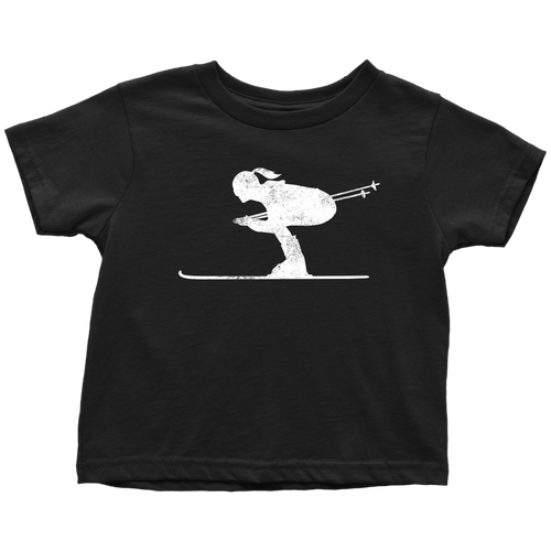 Skier Chick Toddler Tee