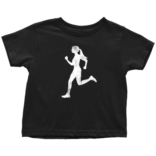 Runner Chick Toddler Tee