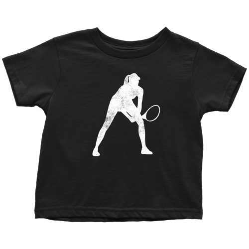 Tennis Chick Toddler Tee