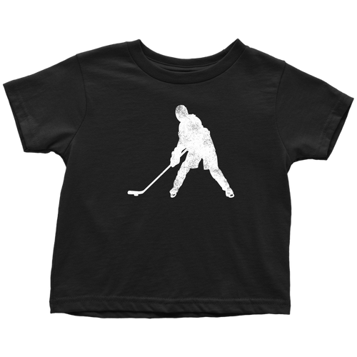 Ice Hockey Chick Toddler Tee