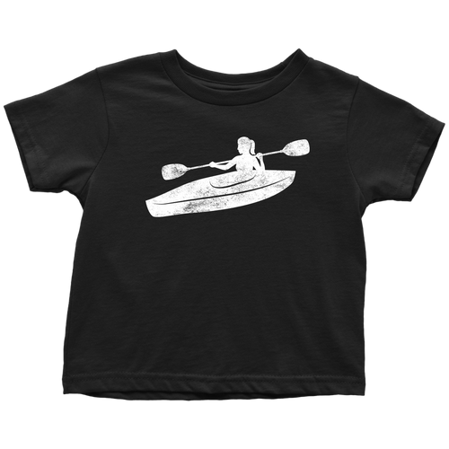 Kayak Chick Toddler Tee