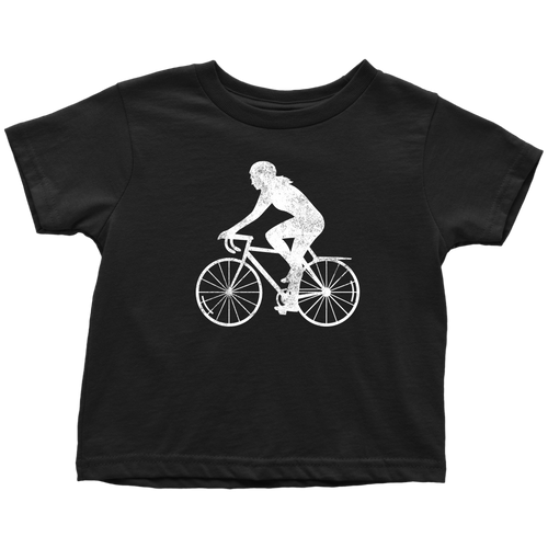 Biker Chick Toddler Tee