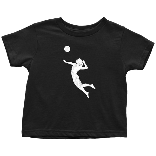 Volleyball Chick Toddler Tee