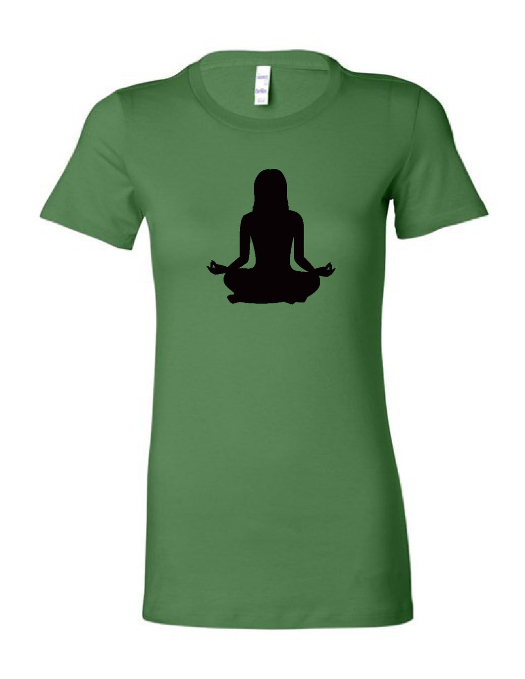 Om Yoga Chick Slim Fit Women's T-Shirt - Chick 9 Clothing