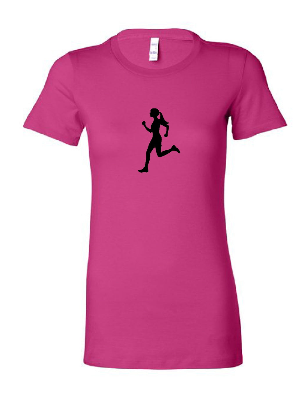 Runner Chick Slim Fit Women's T-Shirt