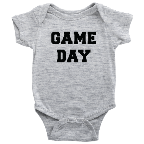 Game Day Baby Bodysuit