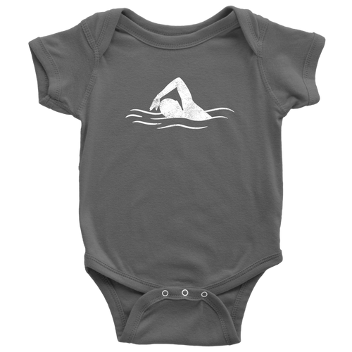 Swimmer Chick Infant Bodysuit - Chick 9 Clothing