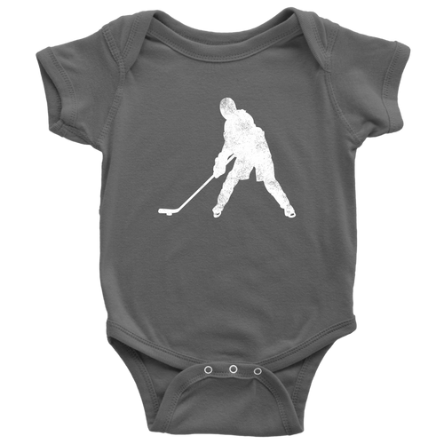 Ice Hockey Chick Infant Bodysuit - Chick 9 Clothing