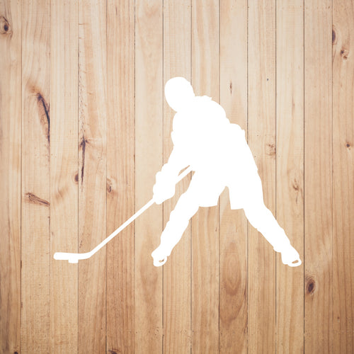 Ice Hockey Chick Vinyl Sticker - Chick 9 Clothing