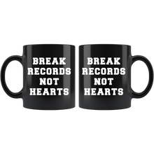 Break Records Not Hearts Ceramic Coffee Mug - Chick 9 Clothing