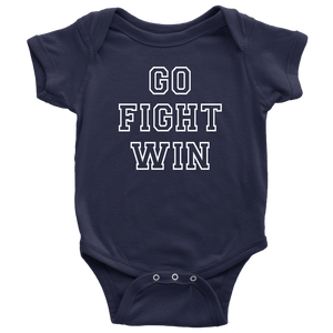 Go Fight Win Baby Bodysuit