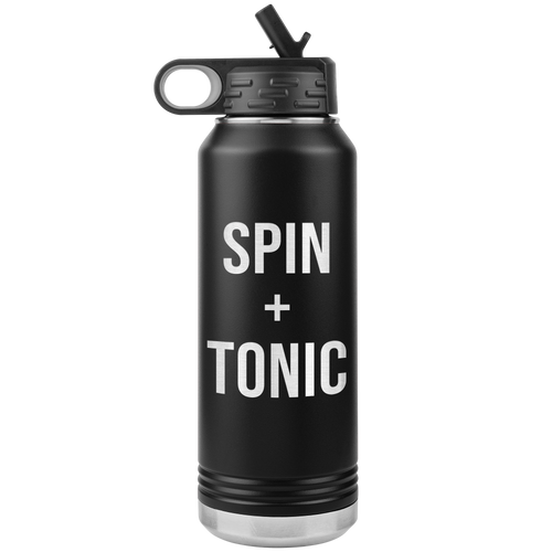 Spin and Tonic Water Bottle