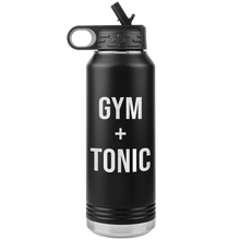 Gym and Tonic Water Bottle