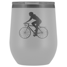 Biker Chick Insulated Wine Tumbler - Chick 9 Clothing