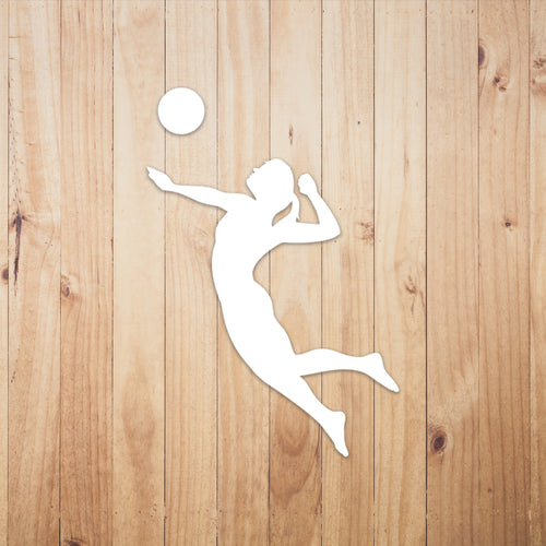 Volleyball Chick Vinyl Sticker - Chick 9 Clothing