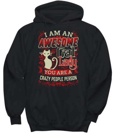 Awesome Cat Lady (Hoodie)