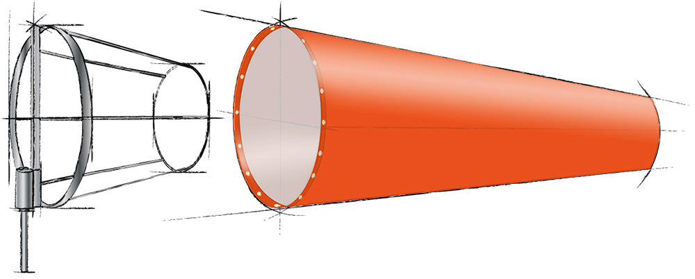 swivel cage, Windsock Types and uses, Windsock
