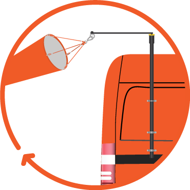 vehicle windsock kit