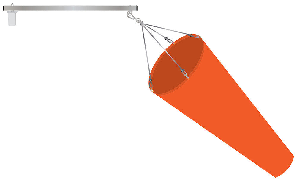 airport Windsock Swivel Arm