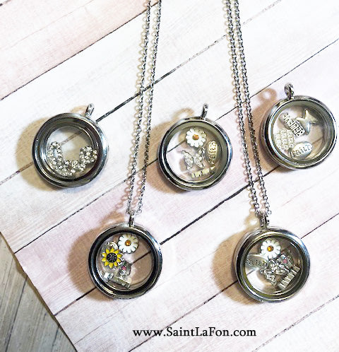 Faith Charm Locket