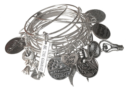 Faith Filled Bangle Bundle