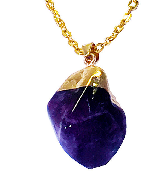 Cloud Nine Amethyst Necklace