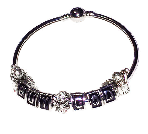 But God Charm Bangle