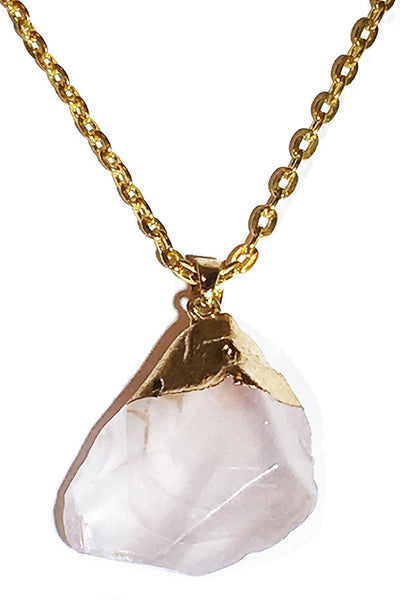 Celestial Crystal Quartz Necklace