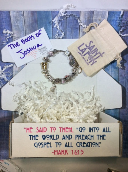 The Book of Joshua Charm Bracelet