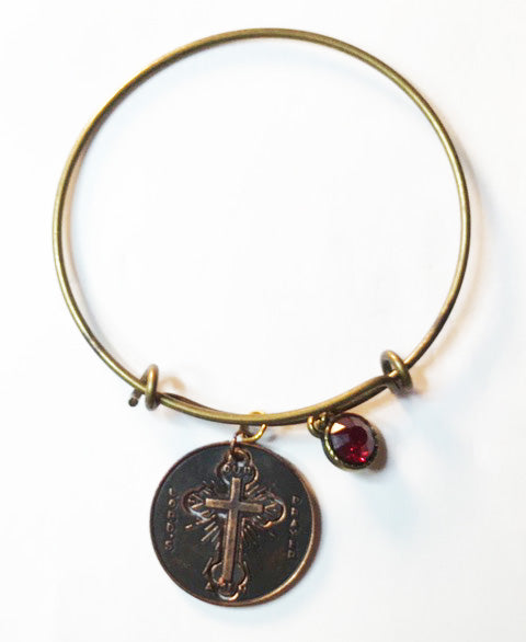 The Lords Prayer Bracelet