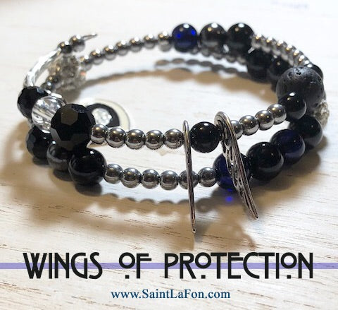 Wings Of Protection Bracelet