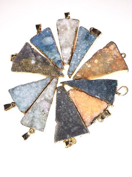 Prism Druzy Necklace