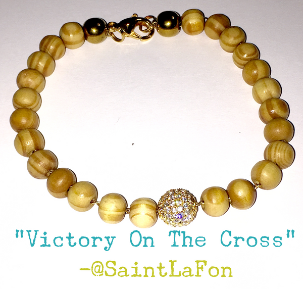 Victory On The Cross Bracelet