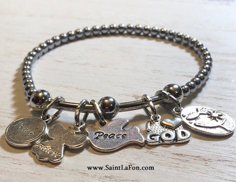 I Love God Purity Bracelet