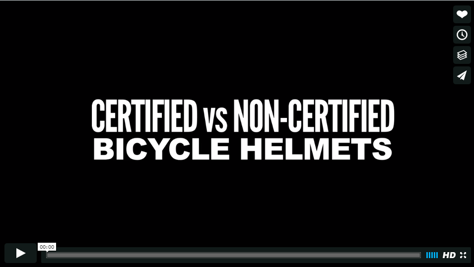 Certified Vs. Non- Certified Helmets. Why it's important.