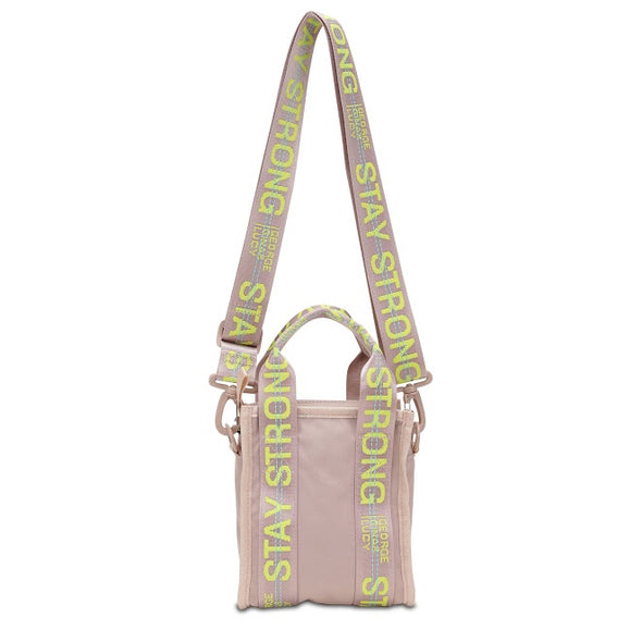 "GGL ""stay strong"" Minifly handbag"