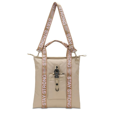"GGL ""stay strong"" XT3ND3D handbag"