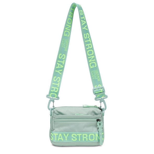 "GGL ""stay strong"" yma bag"