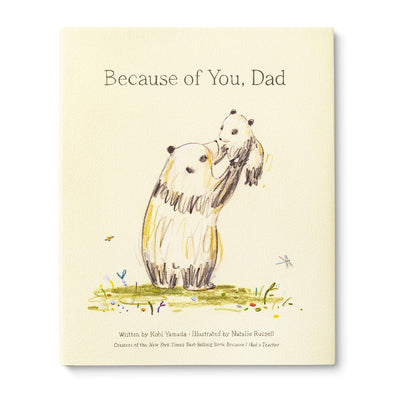 """Because of you,Dad"" book"