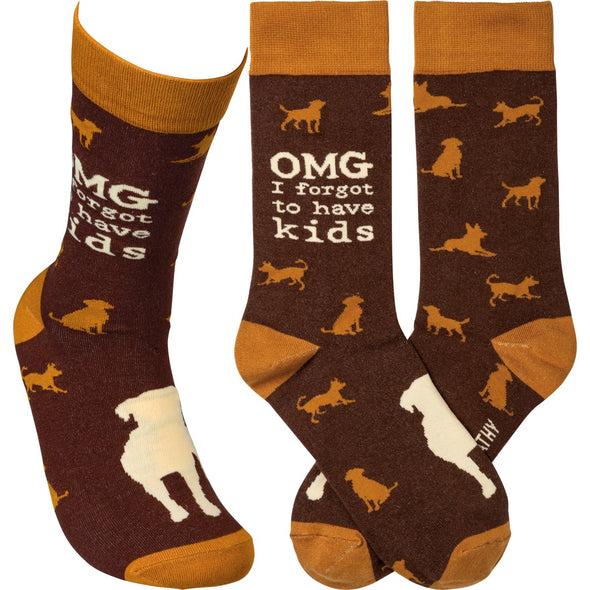 Fun cotton blend socks